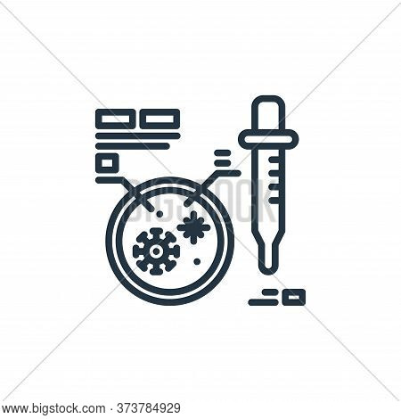 petri dish icon isolated on white background from virus collection. petri dish icon trendy and moder