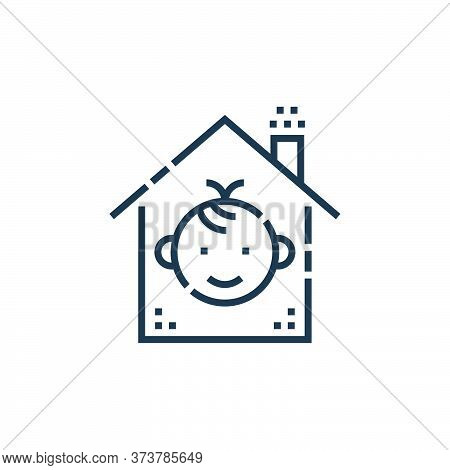 protection icon isolated on white background from smarthome collection. protection icon trendy and m