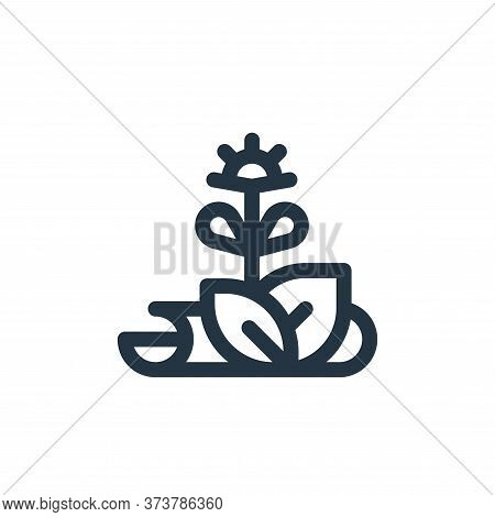 herbs icon isolated on white background from medicine collection. herbs icon trendy and modern herbs