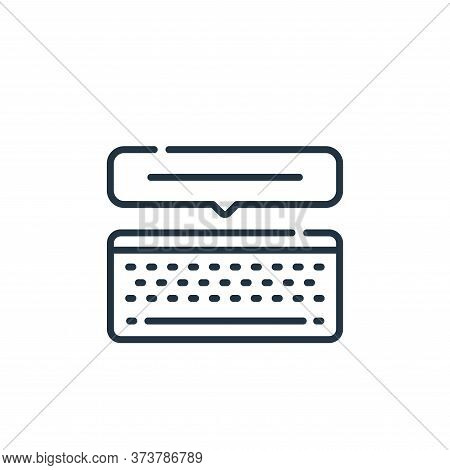 text icon isolated on white background from social media collection. text icon trendy and modern tex