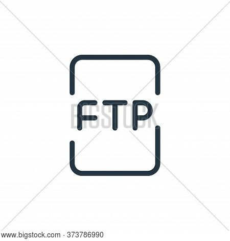 file icon isolated on white background from data transfer collection. file icon trendy and modern fi