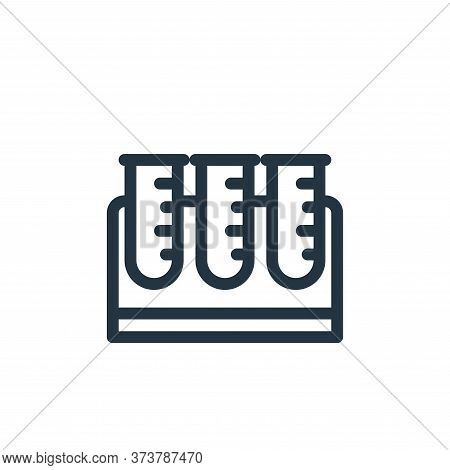 test tube icon isolated on white background from medical tools collection. test tube icon trendy and
