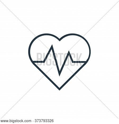 cardiogram icon isolated on white background from medical tools collection. cardiogram icon trendy a