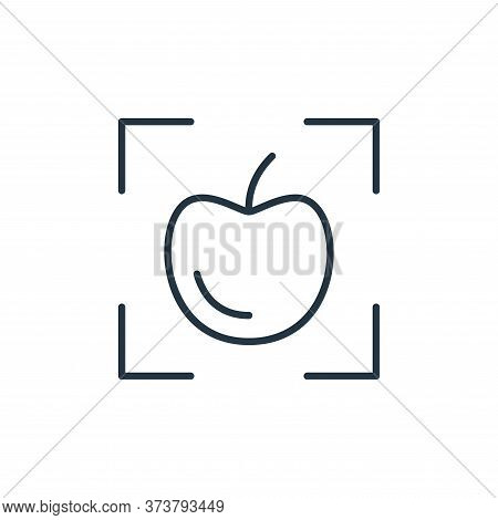 scanner icon isolated on white background from smart farm collection. scanner icon trendy and modern