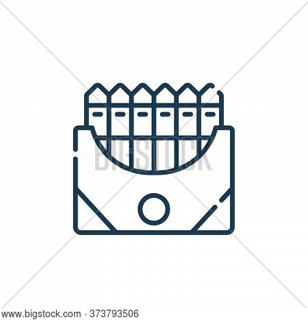 crayon icon isolated on white background from academy collection. crayon icon trendy and modern cray