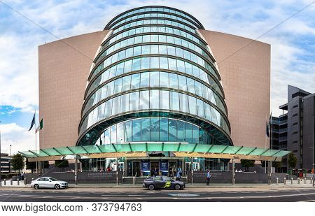 Dublin, Ireland - July 29th, 2019: The Convention Centre In North Dock, Dublin, Ireland.
