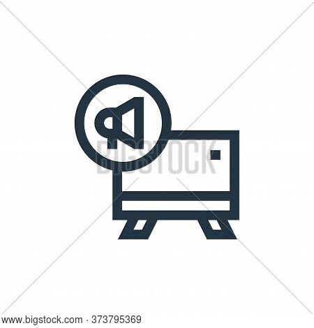 announcement icon isolated on white background from advertisement collection. announcement icon tren