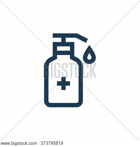 hand sanitizer icon isolated on white background from pharmacy collection. hand sanitizer icon trend