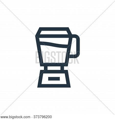 mixer icon isolated on white background from vegan collection. mixer icon trendy and modern mixer sy