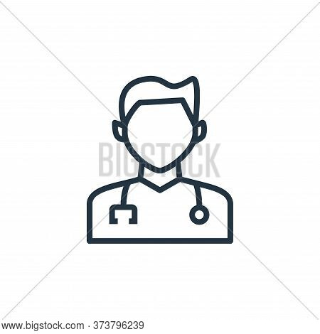 doctor icon isolated on white background from hospital collection. doctor icon trendy and modern doc