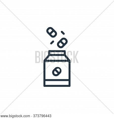 drug icon isolated on white background from coronavirus collection. drug icon trendy and modern drug