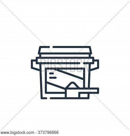 washing powder icon isolated on white background from cleaning collection. washing powder icon trend
