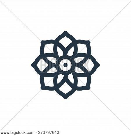 dalia icon isolated on white background from mexico collection. dalia icon trendy and modern dalia s