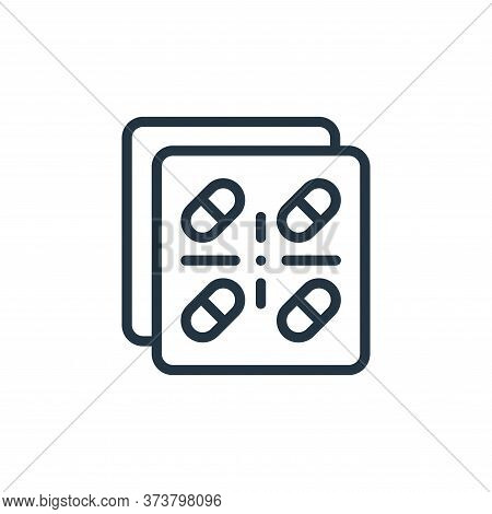 pills icon isolated on white background from medicine collection. pills icon trendy and modern pills
