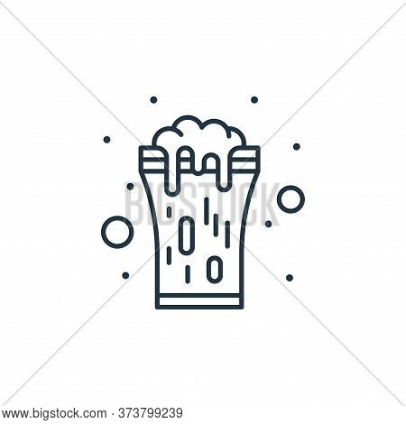 beer icon isolated on white background from saint patrick collection. beer icon trendy and modern be