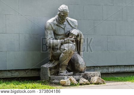 Monument To The Discoverer Of Russian Gold Yerofey Markov