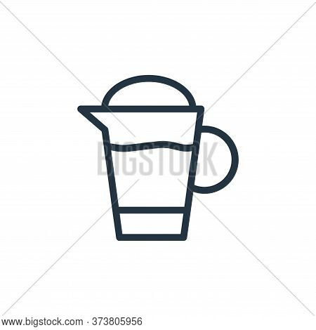 electric kettle icon isolated on white background from food collection. electric kettle icon trendy