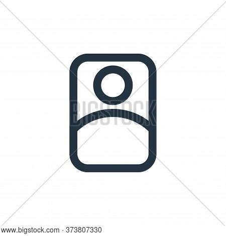user icon isolated on white background from interface collection. user icon trendy and modern user s