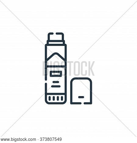 glue stick icon isolated on white background from academy collection. glue stick icon trendy and mod