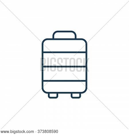 luggage icon isolated on white background from retirement collection. luggage icon trendy and modern