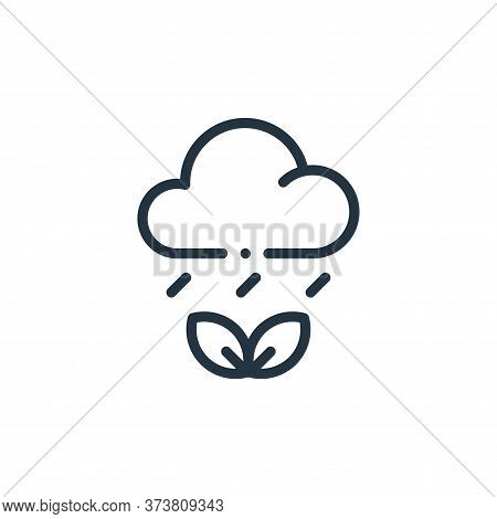 weather icon isolated on white background from ecology collection. weather icon trendy and modern we