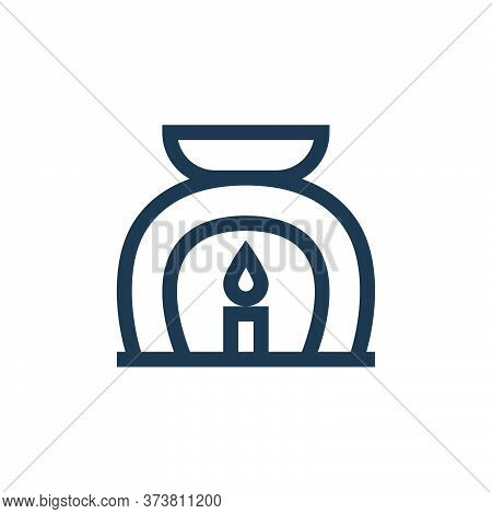 aromatherapy icon isolated on white background from alternative medicine collection. aromatherapy ic