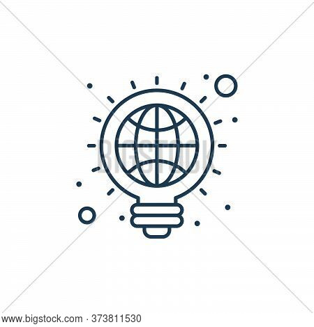 creative icon isolated on white background from earth day collection. creative icon trendy and moder