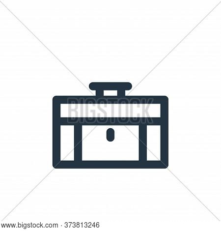 briefcase icon isolated on white background from holiday collection. briefcase icon trendy and moder