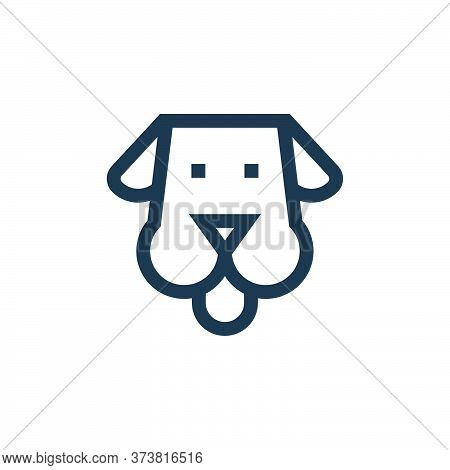 dog icon isolated on white background from pet shop collection. dog icon trendy and modern dog symbo