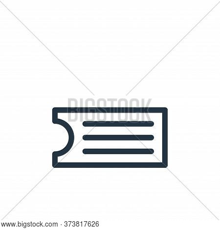 ticket icon isolated on white background from holiday collection. ticket icon trendy and modern tick