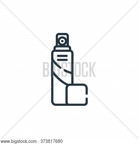 spray icon isolated on white background from bathroom collection. spray icon trendy and modern spray