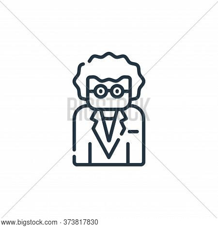teacher icon isolated on white background from academy collection. teacher icon trendy and modern te