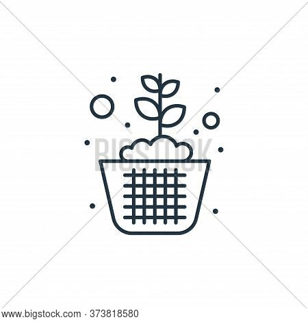 plant icon isolated on white background from earth day collection. plant icon trendy and modern plan