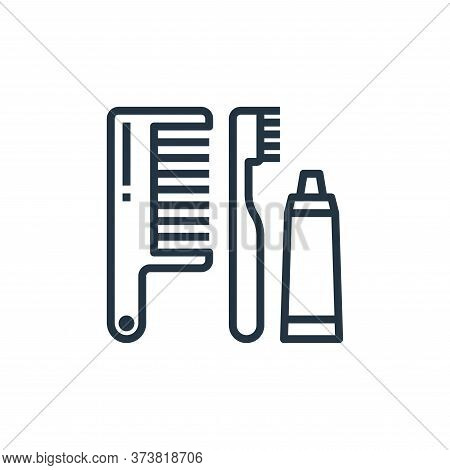 comb icon isolated on white background from hotel collection. comb icon trendy and modern comb symbo