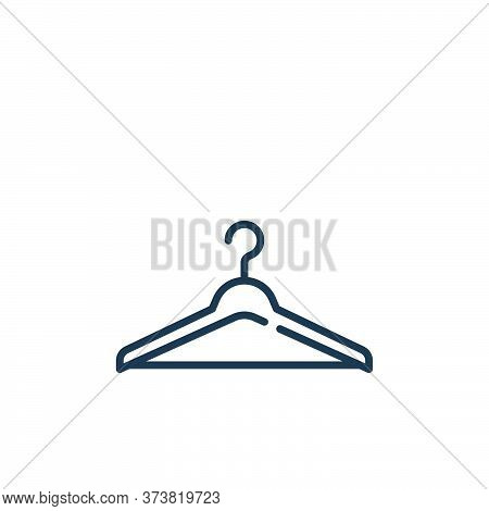 clothes hanger icon isolated on white background from mall collection. clothes hanger icon trendy an