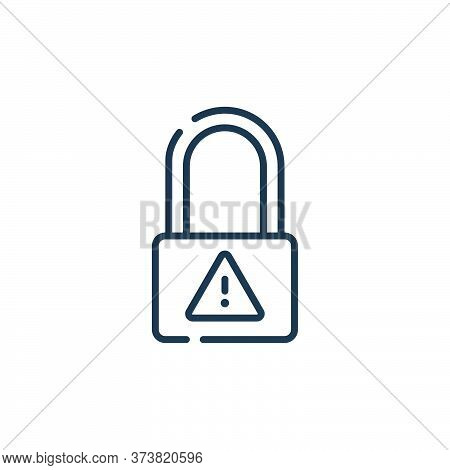 cyber security icon isolated on white background from hacker collection. cyber security icon trendy