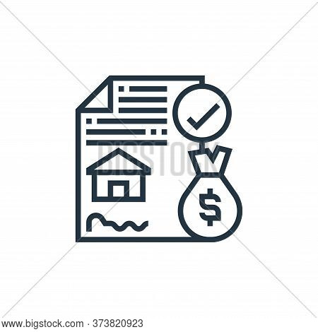 agreement icon isolated on white background from payment element collection. agreement icon trendy a