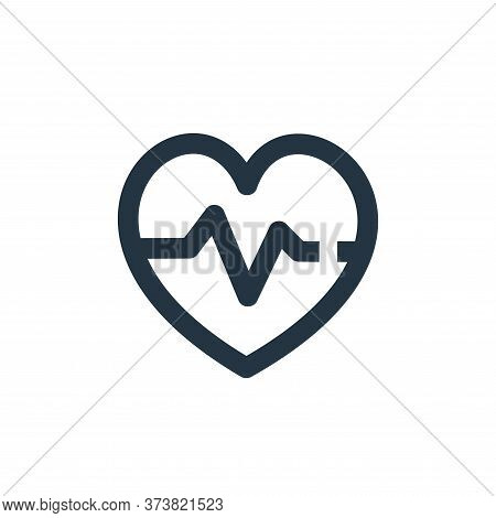 blood pressure icon isolated on white background from medical kit collection. blood pressure icon tr