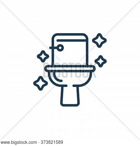toilet icon isolated on white background from hygiene collection. toilet icon trendy and modern toil
