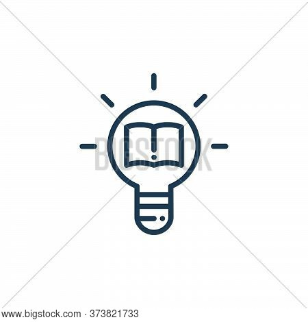 creative icon isolated on white background from online learning collection. creative icon trendy and