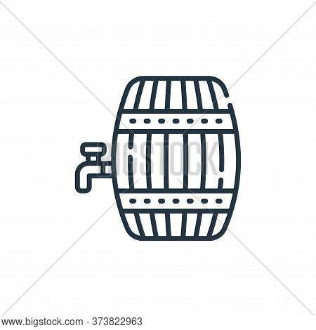barrel icon isolated on white background from england collection. barrel icon trendy and modern barr