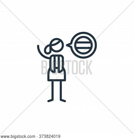 languages icon isolated on white background from general arts collection. languages icon trendy and