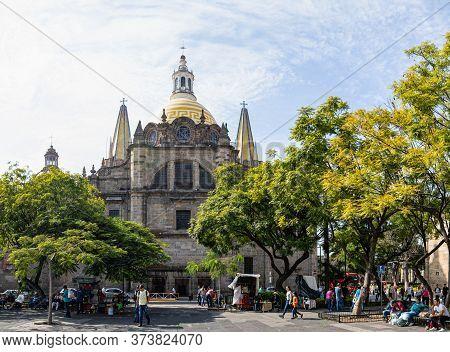 Guadalajara, Jalisco, Mexico- November 23, 2019: Guadalajara, Jalisco, Mexico - November 23, 2019: V
