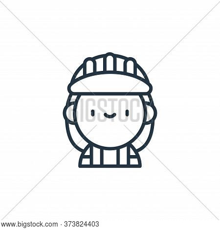 worker icon isolated on white background from labour day collection. worker icon trendy and modern w