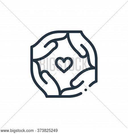 together icon isolated on white background from world love collection. together icon trendy and mode