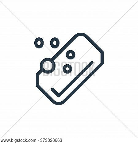 soap icon isolated on white background from coronavirus collection. soap icon trendy and modern soap