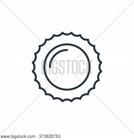 sun icon isolated on white background from space collection. sun icon trendy and modern sun symbol f