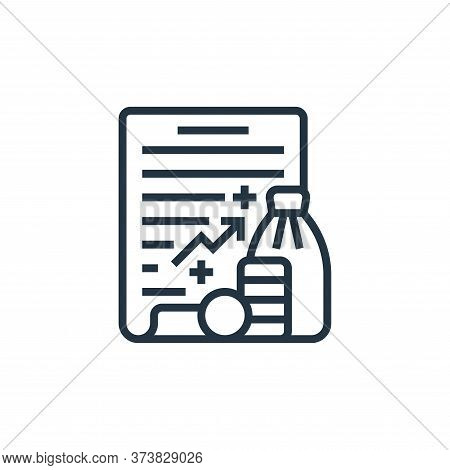 policy icon isolated on white background from economic crisis collection. policy icon trendy and mod