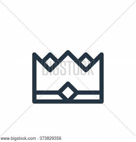 crown icon isolated on white background from europe collection. crown icon trendy and modern crown s