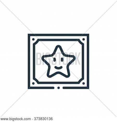 star icon isolated on white background from videogame elements collection. star icon trendy and mode